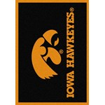 "Milliken College Team Spirit (NCAA) Iowa 74218 Spirit Rectangle (4000019329) 7'8"" x 10'9"" Area Rug"
