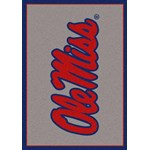 "Milliken College Team Spirit (NCAA) Mississippi 45488 Spirit Rectangle (4000019179) 5'4"" x 7'8"" Area Rug"