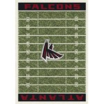 "Milliken NFL Team Home Field (NFL-F) Atlanta Falcons 01006 Home Field Rectangle (4000019882) 10'9"" x 13'2"" Area Rug"