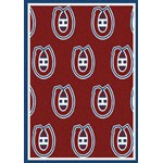 "Milliken NHL Team Repeat (NHL-R) Montreal Canadians 01612 Repeat Rectangle (4000020414) 5'4"" x 7'8"" Area Rug"