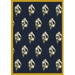 "Milliken NHL Team Repeat (NHL-R) Nashville Predators 01712 Repeat Rectangle (4000054814) 3'10"" x 5'4"" Area Rug"