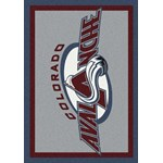 "Milliken NHL Team Spirit (NHL-S) Colorado Avalanche 01071 Spirit Rectangle (4000054837) 7'8"" x 10'9"" Area Rug"