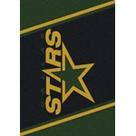 "Milliken NHL Team Spirit (NHL-S) Dallas Stars 01091 Spirit Rectangle (4000020340) 5'4"" x 7'8"" Area Rug"