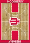 Milliken College Home Court (NCAA) Indiana 01115 Court Rectangle (4000018383) 5'4