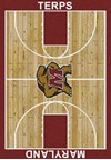Milliken College Home Court (NCAA) Maryland 01156 Court Rectangle (4000018390) 5'4