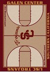 Milliken College Home Court (NCAA) Southern California 01370 Court Rectangle (4000018501) 7'8