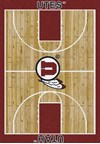 Milliken College Home Court (NCAA) Utah 01452 Court Rectangle (4000018516) 7'8