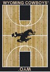 Milliken College Home Court (NCAA) Wyoming 01491 Court Rectangle (4000018441) 5'4