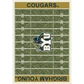 Milliken College Home Field (NCAA) Brigham Young 01048 Home Field Rectangle (4000018541) 5