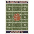 Milliken College Home Field (NCAA) Clemson 01050 Home Field Rectangle (4000018543) 5