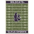 Milliken College Home Field (NCAA) Kansas State 01125 Home Field Rectangle (4000018556) 5