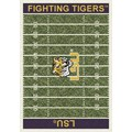 Milliken College Home Field (NCAA) LSU 01152 Home Field Rectangle (4000018559) 5