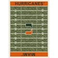 Milliken College Home Field (NCAA) Miami 01157 Home Field Rectangle (4000018562) 5