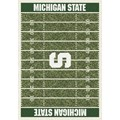 Milliken College Home Field (NCAA) Michigan State 01180 Home Field Rectangle (4000018708) 10