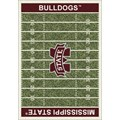 Milliken College Home Field (NCAA) Mississippi State 01188 Home Field Rectangle (4000018567) 5