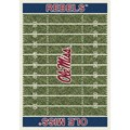 Milliken College Home Field (NCAA) Mississippi 01186 Home Field Rectangle (4000018566) 5
