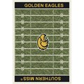 Milliken College Home Field (NCAA) Southern Mississippi 01392 Home Field Rectangle (4000018584) 5