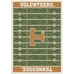 "Milliken College Home Field (NCAA) Tennessee 01400 Home Field Rectangle (4000018586) 5'4"" x 7'8"" Area Rug"