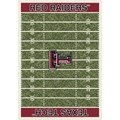 Milliken College Home Field (NCAA) Texas Tech 01440 Home Field Rectangle (4000018590) 5