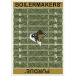 "Milliken College Home Field (NCAA-FLD) Purdue 01345 Home Field Rectangle (4000054653) 3'10"" x 5'4"" Area Rug"