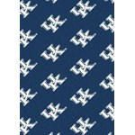 "Milliken College Repeating (NCAA) Kentucky 01140 Repeat Rectangle (4000018845) 5'4"" x 7'8"" Area Rug"