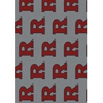 "Milliken College Repeating (NCAA-RPT) Rutgers 01347 Repeat Rectangle (4000054914) 5'4"" x 7'8"" Area Rug"