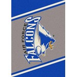 "Milliken College Team Spirit (NCAA) Air Force 68870 Spirit Rectangle (4000019418) 2'8"" x 3'10"" Area Rug"