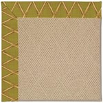 Capel Rugs Creative Concepts Cane Wicker - Bamboo Tea Leaf (236) Octagon 4' x 4' Area Rug