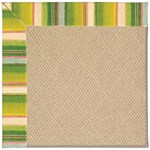 Capel Rugs Creative Concepts Cane Wicker - Kalani Fresco (239) Octagon 4' x 4' Area Rug