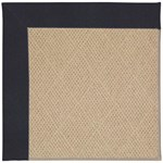 Capel Rugs Creative Concepts Cane Wicker - Canvas Navy (497) Octagon 4' x 4' Area Rug