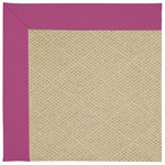Capel Rugs Creative Concepts Cane Wicker - Canvas Hot Pink (515) Octagon 4' x 4' Area Rug