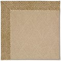 Capel Rugs Creative Concepts Cane Wicker - Tampico Rattan (716) Octagon 4