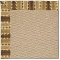 Capel Rugs Creative Concepts Cane Wicker - Java Journey Chestnut (750) Octagon 6