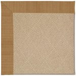 Capel Rugs Creative Concepts Cane Wicker - Dupione Caramel (150) Octagon 8' x 8' Area Rug