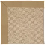 Capel Rugs Creative Concepts Cane Wicker - Canvas Linen (175) Octagon 8' x 8' Area Rug