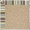 Capel Rugs Creative Concepts Cane Wicker - Brannon Whisper (422) Octagon 8