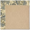 Capel Rugs Creative Concepts Cane Wicker - Cayo Vista Ocean (425) Octagon 8