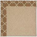 Capel Rugs Creative Concepts Cane Wicker - Arden Chocolate (746) Octagon 8