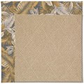 Capel Rugs Creative Concepts Cane Wicker - Bahamian Breeze Ocean (420) Octagon 10