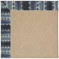 Capel Rugs Creative Concepts Cane Wicker - Java Journey Indigo (460) Octagon 10