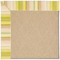 Capel Rugs Creative Concepts Cane Wicker - Kalani Coconut (615) Octagon 10