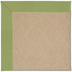Capel Rugs Creative Concepts Cane Wicker - Canvas Citron (213) Octagon 12' x 12' Area Rug
