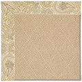 Capel Rugs Creative Concepts Cane Wicker - Paddock Shawl Mineral (310) Octagon 12