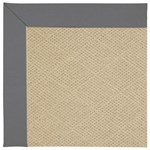 Capel Rugs Creative Concepts Cane Wicker - Canvas Charcoal (355) Octagon 12' x 12' Area Rug