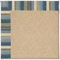 Capel Rugs Creative Concepts Cane Wicker - Kalani Ocean (417) Octagon 12