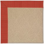 "Capel Rugs Creative Concepts Cane Wicker - Vierra Cherry (560) Runner 2' 6"" x 12' Area Rug"