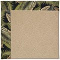 Capel Rugs Creative Concepts Cane Wicker - Bahamian Breeze Coal (325) Rectangle 3