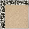 Capel Rugs Creative Concepts Cane Wicker - Coral Cascade Ebony (385) Rectangle 3