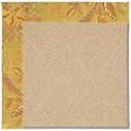 Capel Rugs Creative Concepts Cane Wicker - Cayo Vista Tea Leaf (210) Rectangle 4