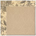 Capel Rugs Creative Concepts Cane Wicker - Cayo Vista Graphic (315) Rectangle 4